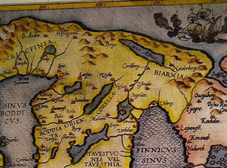 The Voyages Of Ohthere Of Hålogaland And Wulfstan Of Hedeby - Sweden map hedestad